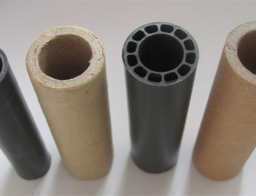 Paper and Plastic Cores for Thermal Paper Rolls