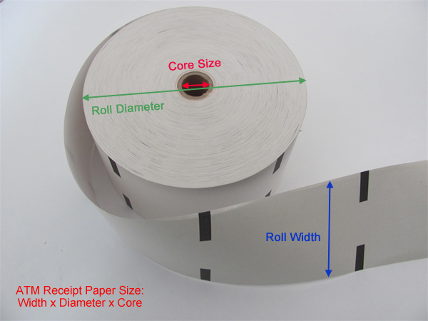 How To Make Atm Receipt Paper Rolls China Supplier
