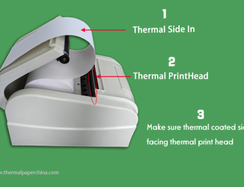 How to Install Thermal Receipt Paper into Thermal Printer